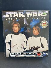 Han Solo /& Luke Skywalker in Stormtrooper Gear Star Wars 12 Inch Kenner 1996 for sale online