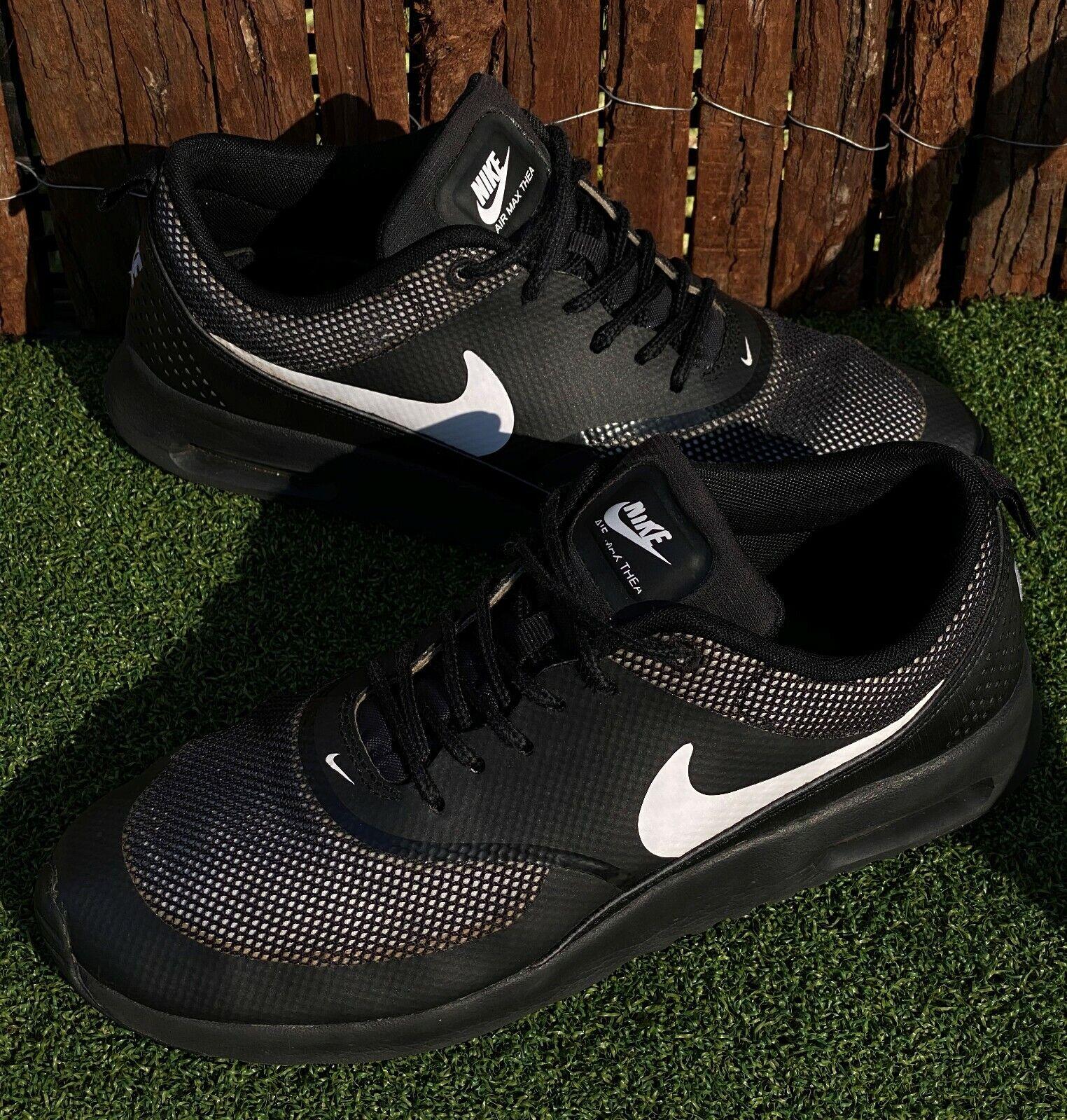 women's Nike Air Max Thea running black