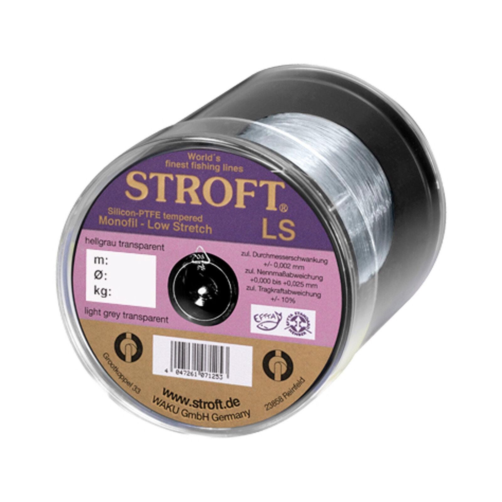 (0,06EUR/m) Stroft Monofile AngeStroft LSchnur - Stroft LS LS LS 0,25mm 6,5kg 500m 378565
