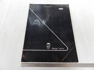 Cartella Stampa Originale 1992 Prototipo Ghia Focus Ford Escort Coswort 4wd Non Repassant