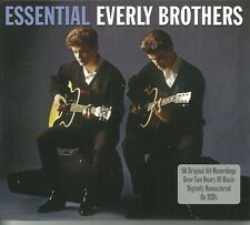 ESSENTIAL EVERLY BROTHERS - 2 CD BOX SET - 50 TRACKS