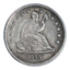 thumbnail 1 - 1840-O Seated Liberty Quarter No Drapery Very Fine Condition
