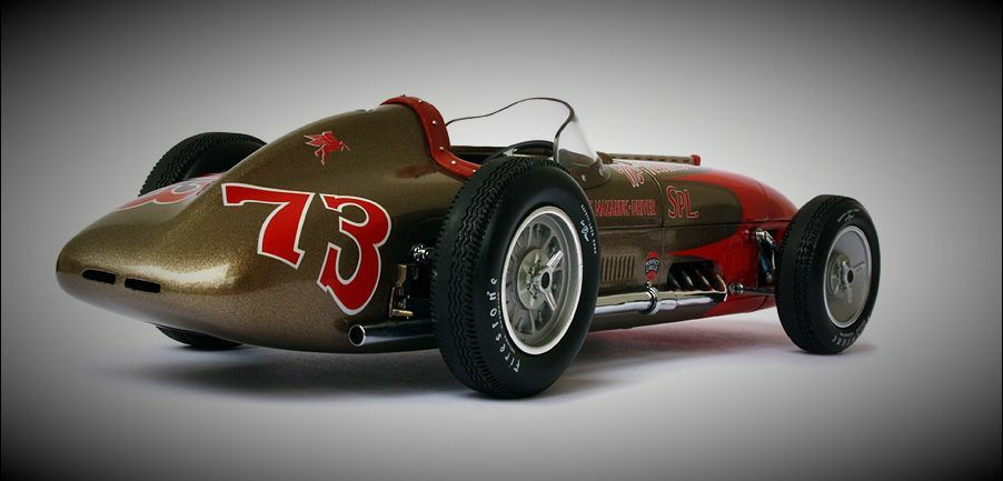 1957 Ford Built Race Car GP F 1 1 1 Indy Racer Vintage T Antique 25 Model 24 Metal b11847