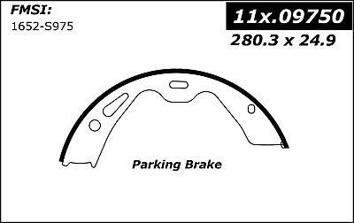 Centric Brake Shoe 111.09750