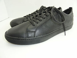 2486475acd Public Opinion Men's Black Long Lace Fashion Leather Sneakers Multi ...
