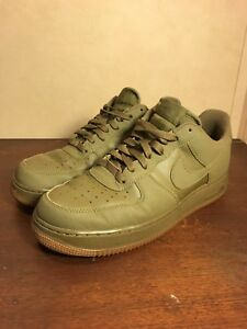 finest selection 3809d 095bc Image is loading Nike-Air-Force-1-Low-82-Olive-Green-
