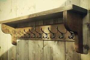 Gut Image Is Loading Extra Large Vintage Style Coat Hook Rack With