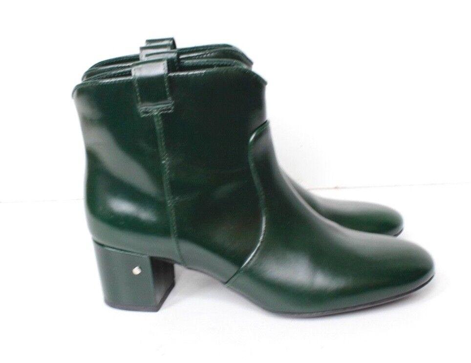 Laurence Dacade's verde Charol botas al Tobillo Tobillo Tobillo 38-39 Reino Unido 6 - 5.5 se ajusta a la pequeña  ventas en línea de venta