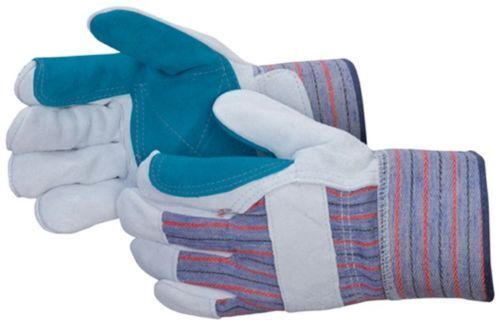 Lowes Work Gloves >> 72 Pair Double Palm Split Leather Palm Work Gloves Men S Large Brand New