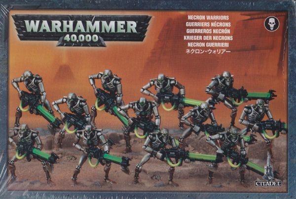 Necron Warriors with Canoptek Scarabs Warhammer 40.000 Warrior Games Workshop GW