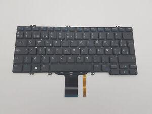 Dell Latitude Keyboard 5280 5289 5290 7280 7290 7380 Spanish ESP 0FJD8V Backlit