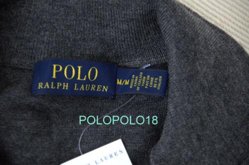 Polo Half Lana L S Merino Sweater Pony Zip 2xl Italia Lauren Nuevo Ralph 125 5Ya8q4T