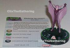 BARON BLOOD #031B Nick Fury Agent of S.H.I.E.L.D Marvel HeroClix Prime