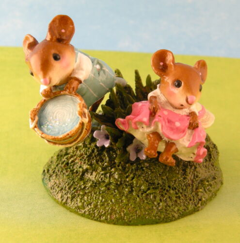 Wee Forest Folk Jack /& Jill Mouse Expo 2012 Nursery Rhyme Event Piece