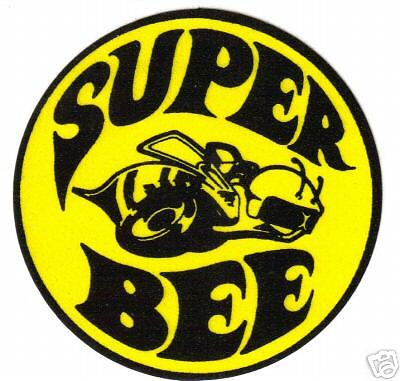 SUPER BEE  VINYL STICKER A014 4 INCH