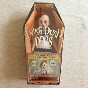 Living-Dead-Dolls-Mezco-Series-30-Lydia-the-Lobster-Girl-Factory-Sealed
