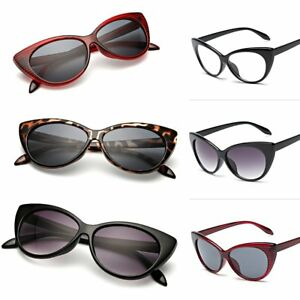 ea0715d80ad0 Fashion Women Eyeglasses Frame Fashion Cat Eye Clear Lens ladies Eye ...
