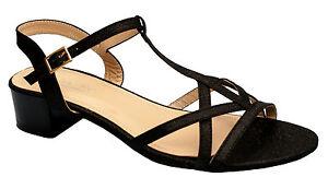 Chaussures-Femme-Sandales-Talon-Grande-Taille-Mules-DM1522-1-Pointure-Haute
