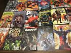 Lot of 50 Comics: Marvel, DC, Indie (No Duplicates,  FN to NM Condition)