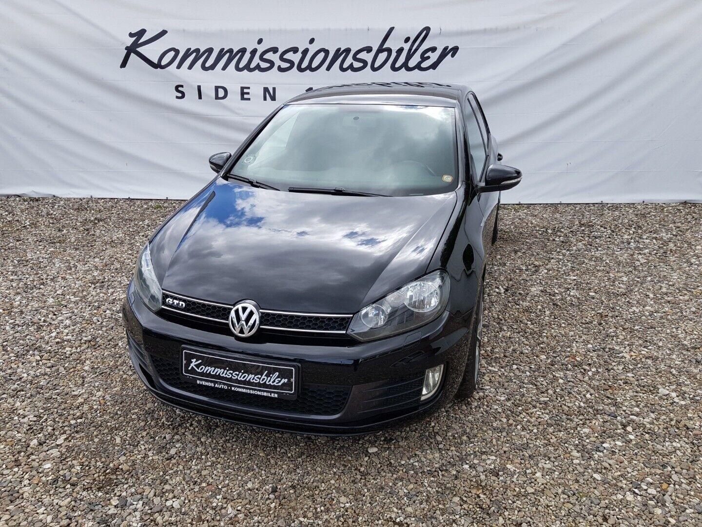 VW Golf VI 2,0 TDi 170 GTD 5d - 123.900 kr.