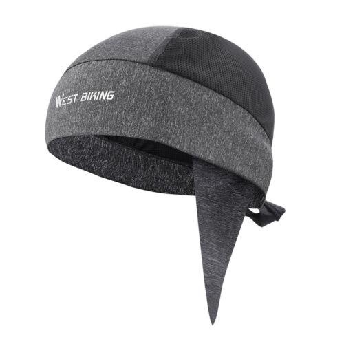 Cycling Skull Cap Beanie Under Helmet Liner Breathable Cooling Hat Headband