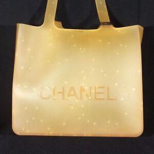 Orange-PVC-Limited-Edition-Chanel-Tote