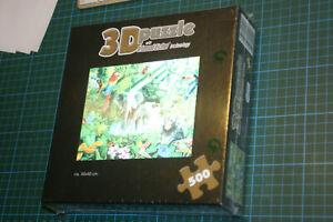 3D-Puzzle-Dschungel-500-Teile-Visual-Echo-Technologie-in-Folie-NEU