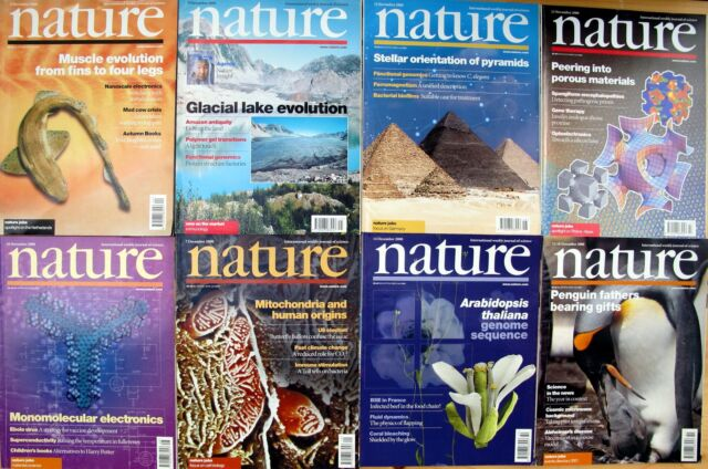 NATURE – volume 408 - complete - The International Weekly Journal of Science