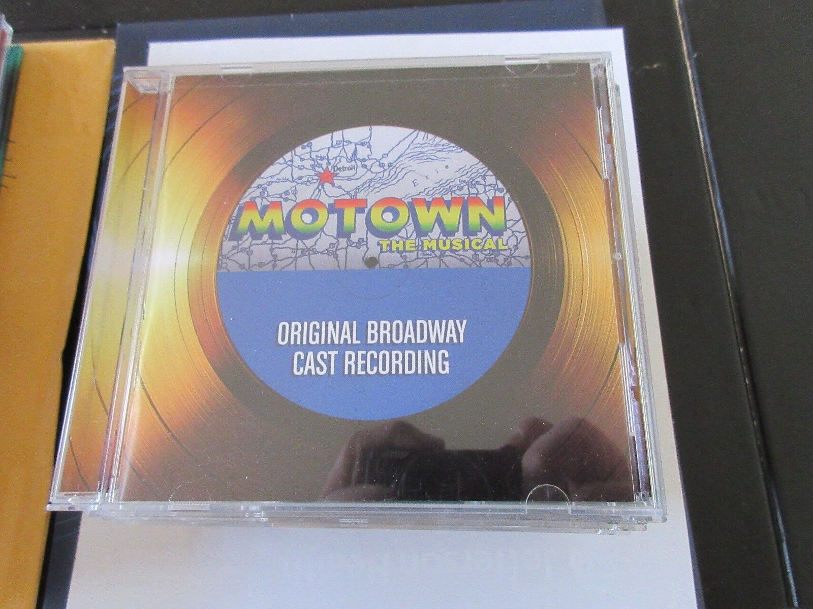 Motown , Original Broadway Cast Recording , CD