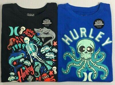 Boy/'s Youth Hurley Premium 100/% Cotton T-Shirt