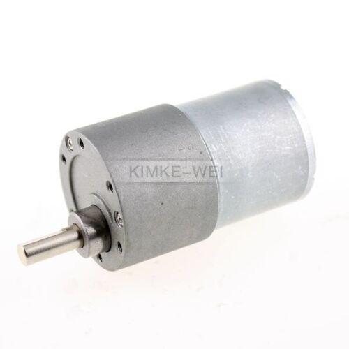 12V DC 30RPM High Torque Gear Box Electric Motor New