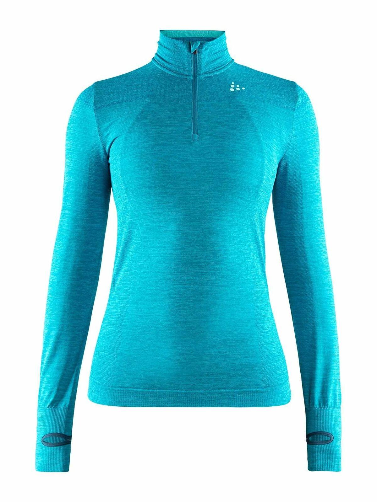 Craft Fuseknit Comfort Zip W Women's Sweater Sport Long-Sleeved T - Shirt