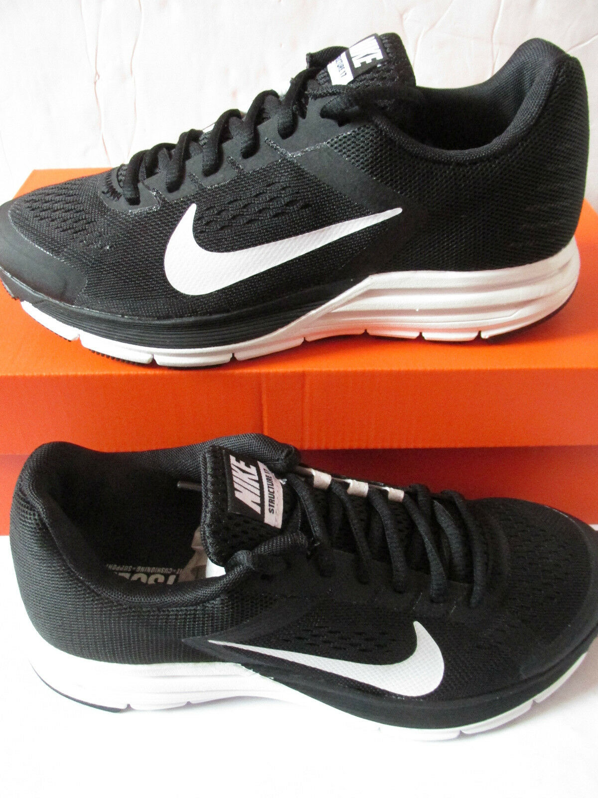 Nike womens zoom structure+ structure+ structure+ 17 running trainers 615588 010 sneakers shoes dc3481