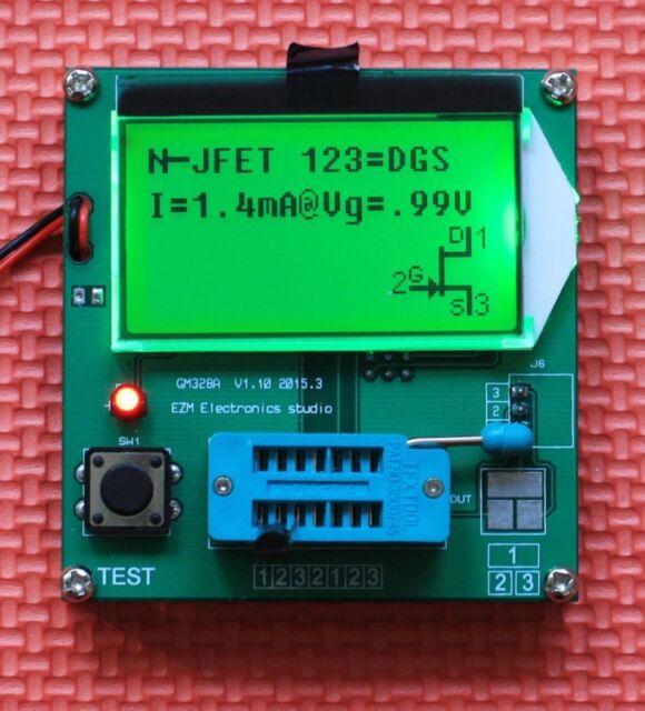 Digital Combo Component Tester Transistor Diode Inductor LCR Capacitor ESR Meter