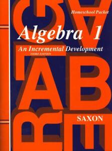 Algebra-1-HomeSchool-Packet-by-John-Saxon