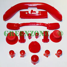 Red Xbox 360 Replacement Controller Buttons inc ABXY, Thumbs, Guide, D Pad