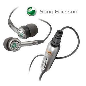 GENUINE Sony Ericsson W595 Headset Headphones Earphones ...