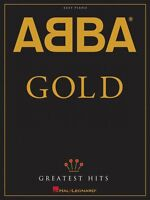 Abba Gold: Greatest Hits Sheet Music Easy Piano Book 000306820