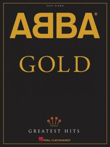 ABBA Gold Greatest Hits Sheet Music Easy Piano Book NEW 000306820