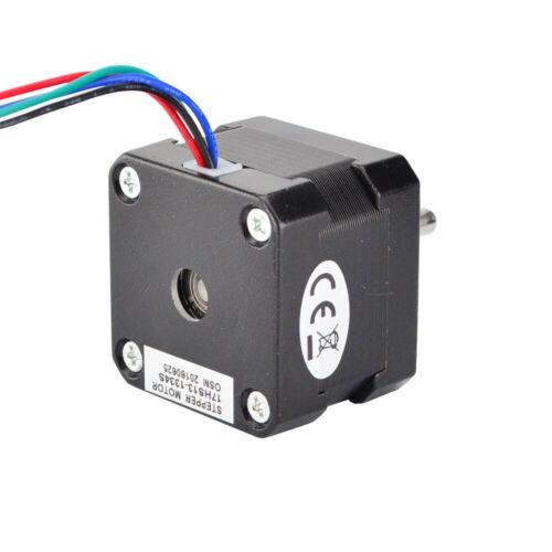 Nema 17 Schrittmotor 1.8deg 22Ncm 1.33A 42x42x34mm 4 Drähte 3D Drucker Extruder