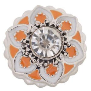 Fits Ginger Snap Flower Ginger SNAPS Magnolia Vine JEWELRY Bracelet 18mm Button