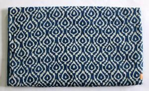 Indian-hand-block-print-Fabric-100-Cotton-Indigo-Dabu-Jaipuri-Anokhi-Fabric