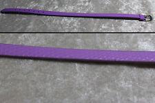 """1/4 scale doll belt 8.5"""" x .25"""" MSD BJD Dollfie MNF Unoa Ellowyne Wilde Lavender"""