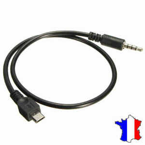 Cable-Micro-USB-vers-prise-Jack-Male-3-5-mm-AUX-Audio-Stereo-Adaptateur