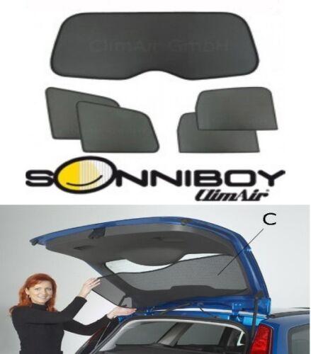 Audi a6 sedán c6 año 2004-2010 protección solar set 5tlg Sonniboy