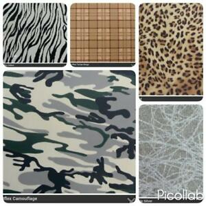 Image of: Wallpaper Image Is Loading A4sheetirononartflexanimalprintvinyl Ebay A4 Sheet Iron On Artflex Animal Print Vinyl Leopard Print Zebra