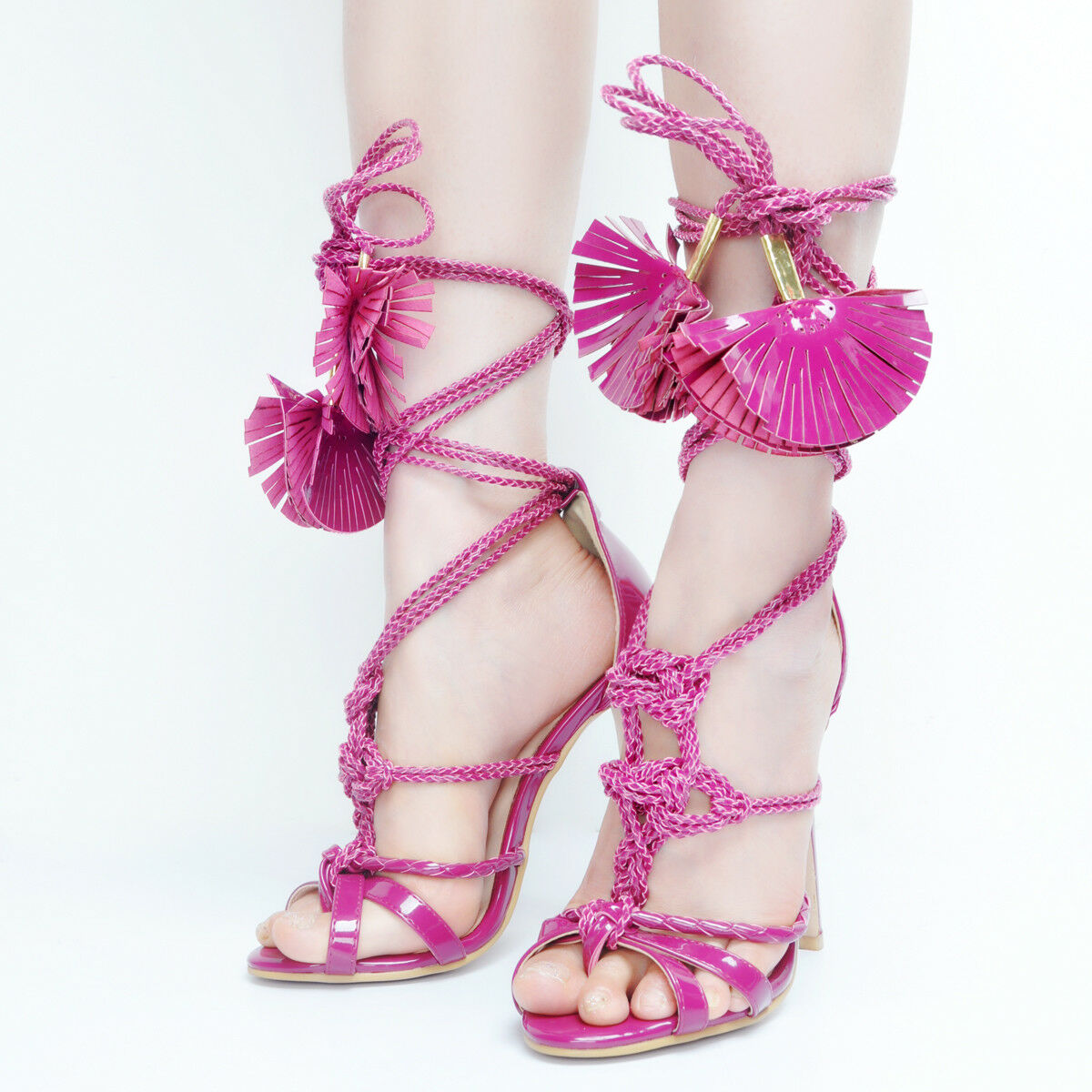 Fashion Women Sandals High Heels Sandals Show Party shoes Women Big Size 4-15