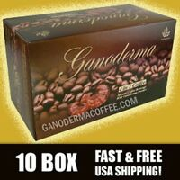 Ganoderma 4 In 1 Coffee W/ Creamer- 10 Box (200 Ct) - Free Shipping