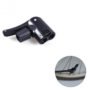 Bicycle Pump Nozzle Hose Adapter Dual Bycicle Convertor Valve Schrader//Presta