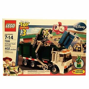 LEGO-Toy-Story-Garbage-Truck-Getaway-7599-Bent-Boxes-New-Retired